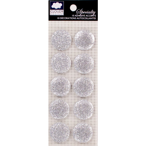 Colorbok - Cloud 9 Design - Nightshade Collection - Glitter Stickers - Large - Dots