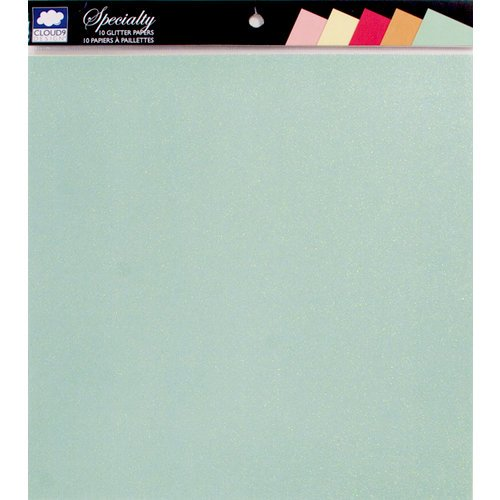 Colorbok - Cloud 9 Design - Fiesta Collection - 12 x 12 Glitter Paper Pack