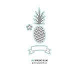 Concord and 9th - Dies - Pop Art Pineapple