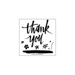 Concord and 9th - Clear Acrylic Stamps - Painted Thank You