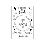 Concord and 9th - Clear Acrylic Stamps - Love You Mean It