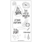 Concord and 9th - Clear Acrylic Stamps - Shine Brighter