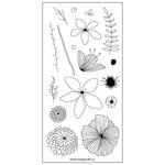 Concord and 9th - Clear Acrylic Stamps - Wildflower