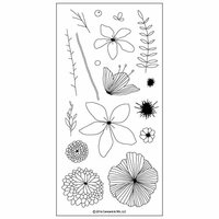 Concord and 9th - Clear Photopolymer Stamps - Wildflower