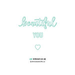 Concord and 9th - Dies - Beautiful You