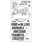 Concord and 9th - Clear Acrylic Stamps - Crazy Awesome