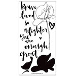Concord and 9th - Clear Acrylic Stamps - You Are Enough