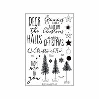 Concord and 9th - Clear Photopolymer Stamps - O Christmas Tree