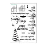 Concord and 9th - Clear Acrylic Stamps - Christmas Cottage