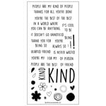 Concord and 9th - Clear Acrylic Stamps - Kind Hearted