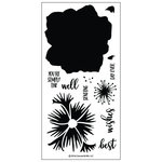 Concord and 9th - Clear Acrylic Stamps - Pretty Petals