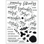 Concord and 9th - Clear Photopolymer Stamps - All Year Long
