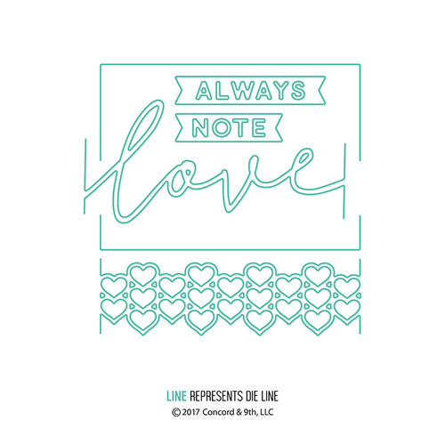 Concord and 9th - Dies - Love Always Frame