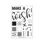 Concord and 9th - Clear Acrylic Stamps - Party Wishes