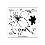 Concord and 9th - Clear Acrylic Stamps - Lily