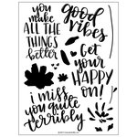 Concord and 9th - Clear Acrylic Stamps - Fill-In Phrases