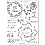 Concord and 9th - Clear Photopolymer Stamps - Many Mandalas