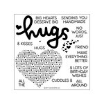 Concord and 9th - Clear Acrylic Stamps - Cuddles and Hugs