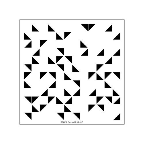 Concord and 9th - Clear Acrylic Stamps - Triangle Turnabout