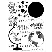 Concord and 9th - Clear Photopolymer Stamps - Globe Greetings
