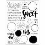Concord and 9th - Clear Photopolymer Stamps - Orange You Sweet