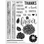 Concord and 9th - Clear Acrylic Stamps - Petals and Pallets