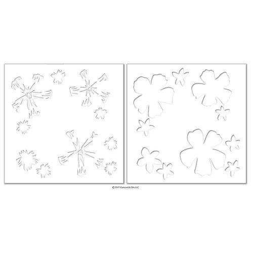 Concord and 9th - 6 x 6 Stencil - Aloha Fill-In