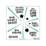 Concord and 9th - Clear Acrylic Stamps - Sunshine Turnabout