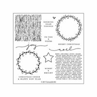 Concord and 9th - Christmas - Clear Photopolymer Stamps - Joyful Noel