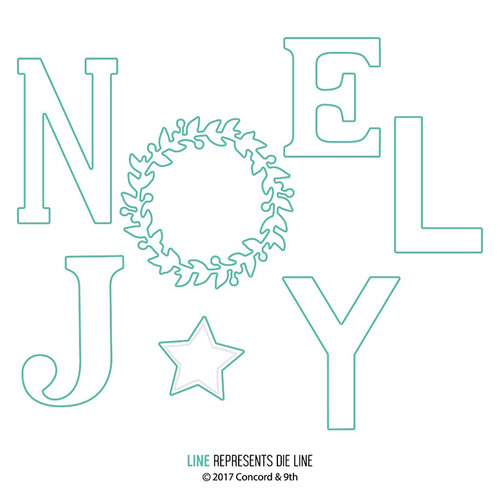 Concord and 9th - Christmas - Dies - Joyful Noel