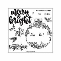Concord and 9th - Christmas - Clear Photopolymer Stamps - Ornamental