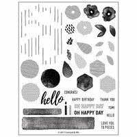 Concord and 9th - Clear Photopolymer Stamps - Bits and Pieces