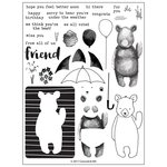 Concord and 9th - Clear Acrylic Stamps - Hi There Bear