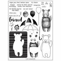 Concord and 9th - Clear Photopolymer Stamps - Hi There Bear