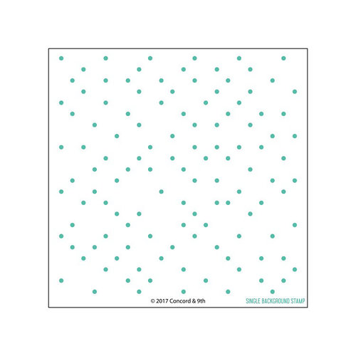 Concord and 9th - Clear Photopolymer Stamps - Polka Dot Turnabout