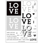 Concord and 9th - Clear Acrylic Stamps - Love You So