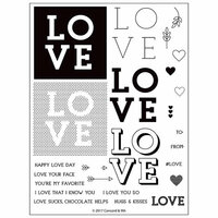 Concord and 9th - Clear Photopolymer Stamps - Love You So