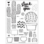 Concord and 9th - Clear Acrylic Stamps - Stuck on You