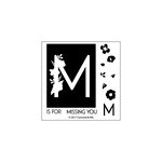 Concord and 9th - Clear Acrylic Stamps - Monogram M