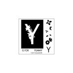 Concord and 9th - Clear Photopolymer Stamps - Monogram Y