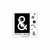 Concord and 9th - Clear Photopolymer Stamps - Monogram Ampersand
