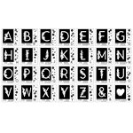 Concord and 9th - Clear Acrylic Stamps - Monogram Collection