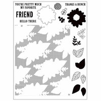 Concord and 9th - Clear Photopolymer Stamps - Posie Fill-In