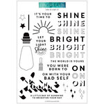 Concord and 9th - Clear Acrylic Stamps - Shine On