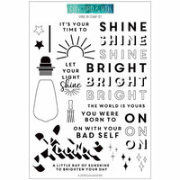 Concord and 9th - Clear Photopolymer Stamps - Shine On