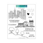 Concord and 9th - Clear Acrylic Stamps - City Stacks