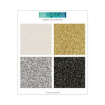 Concord and 9th - 6 x 6 Paper Pad - Neutral Glitter