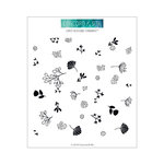 Concord and 9th - Clear Acrylic Stamps - Lovely Blossoms Turnabout