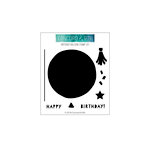 Concord and 9th - Clear Photopolymer Stamps - Birthday Balloon