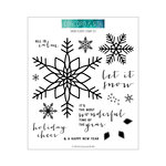 Concord and 9th - Christmas - Clear Photopolymer Stamps - Snow Flurry